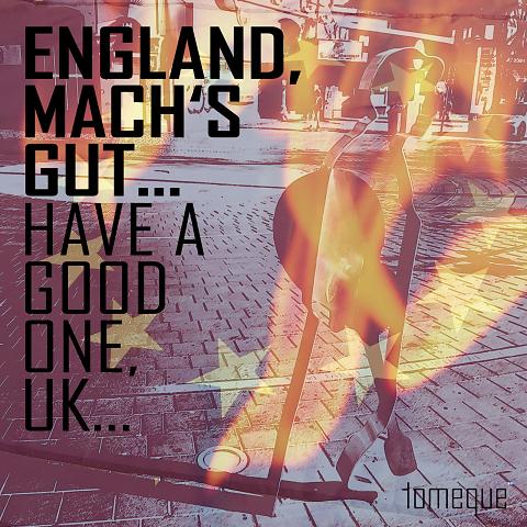 Artwork zu tomeque's Single 'England, mach's gut...'
