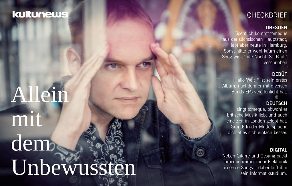Interview mit tomeque in kulturnews